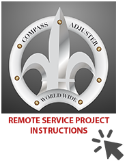 Servicios remotos de Compass Adjuster Worldwide